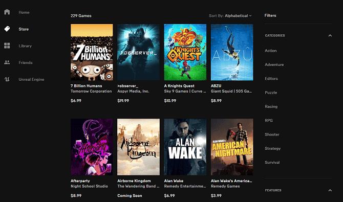مقارنة بين Steam و Epic Games Store: أيهماأفضل؟ - مراجعات
