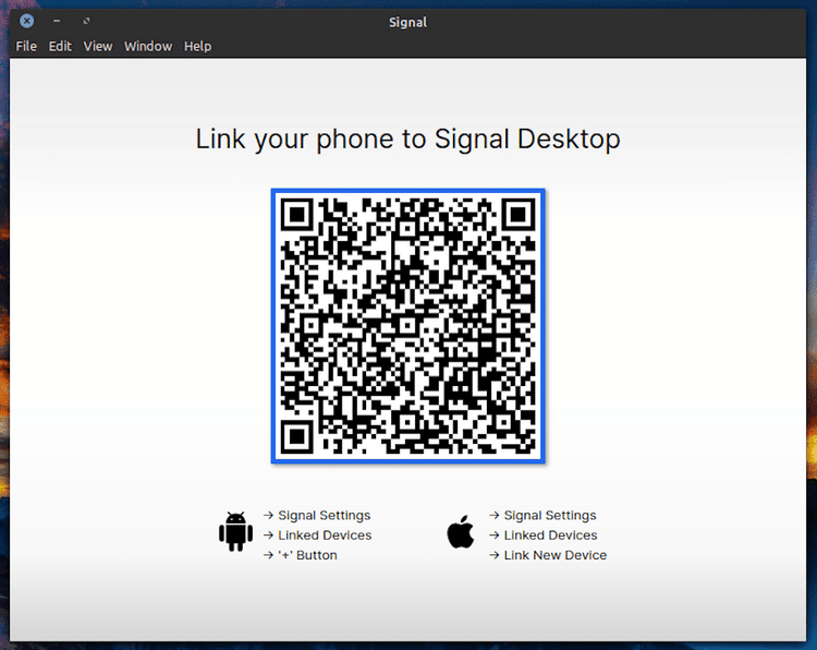 كيفية تنزيل تطبيق Signal للحاسوب المكتبي وتثبيته على نظامLinux - لينكس