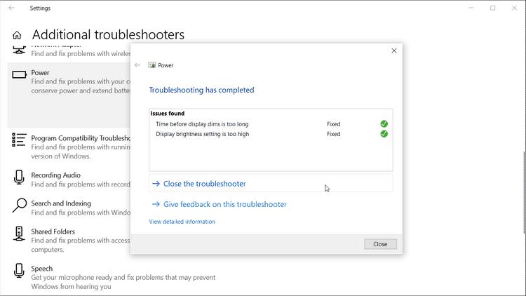 كيفية استعادة خيار وضع السكون المفقود في Windows10 - الويندوز