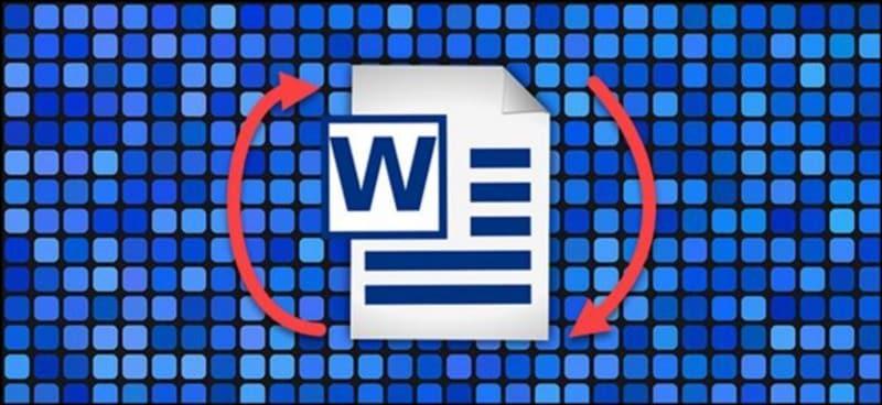 كيفية استخدام الاتجاهين الأفقي والعمودي في مستندWord - شروحات