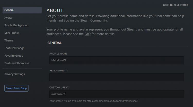 كيفية تخصيص تصميم ملفك الشخصي علىSteam - شروحات