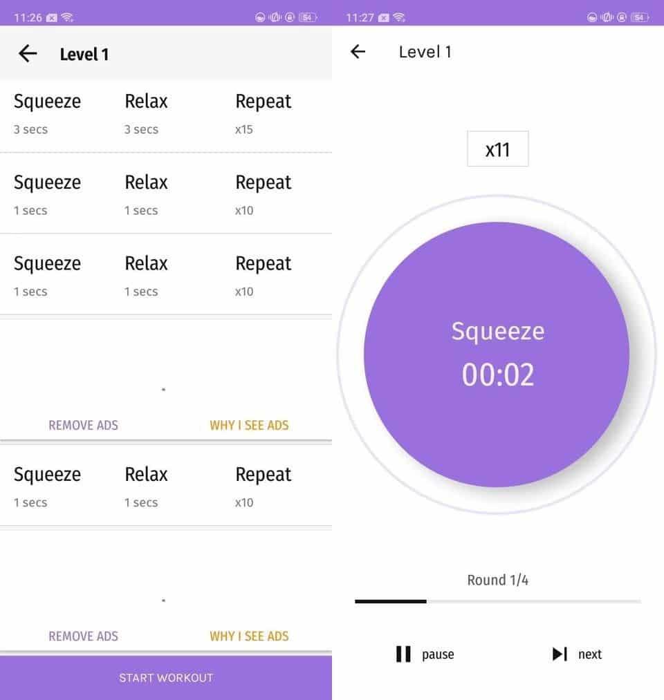 أفضل تطبيقات تمارين كيجل لـAndroid - Android