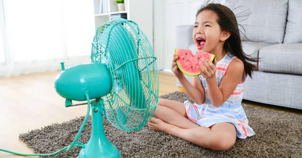 كيفية التغلب على حرارة الصيف بدون مكيف: بعض النصائح للبقاءباردًا - شروحات