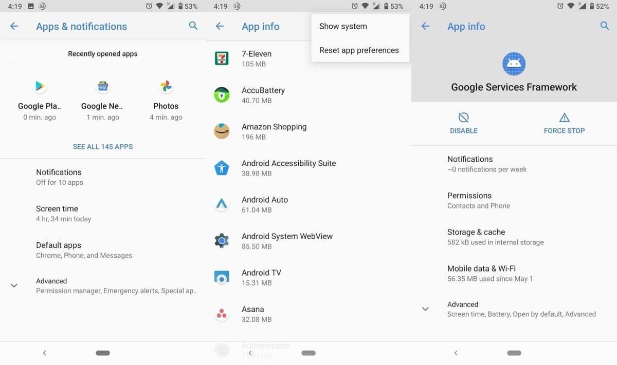 """كيفية إصلاح الخطأ """"مطلوب مصادقة GooglePlay"""" - Android"""