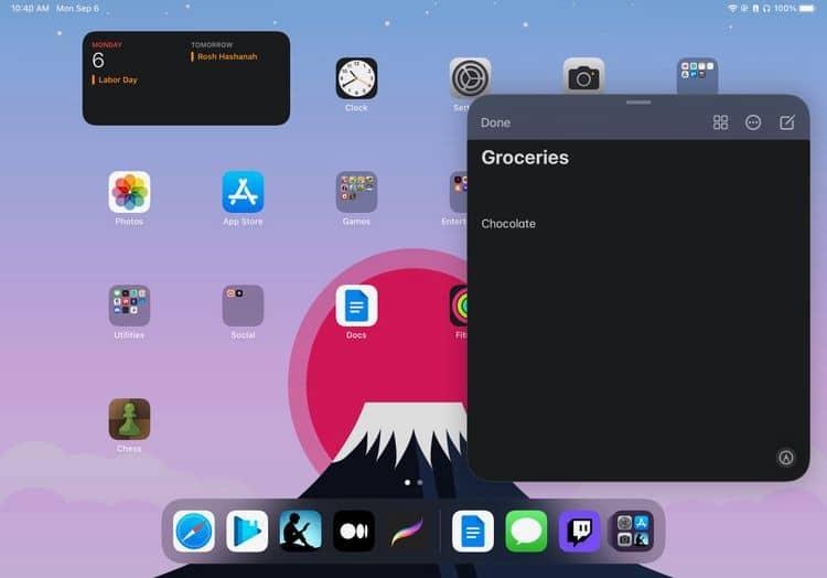 كيفية إنشاء ملاحظة سريعة على الفور على جهاز iPad أوMac - iPadOS Mac
