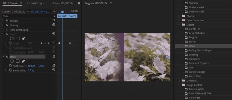 كيفية استخدام التأثيرات في Adobe PremierePro - شروحات