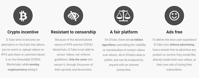 أهم أسباب التبديل من YouTube إلىDTube - مواقع