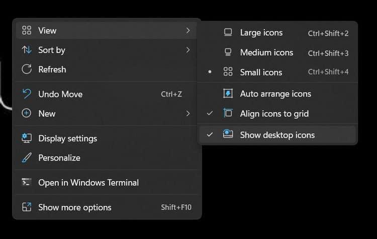 كيفية إضافة أيقونات التطبيقات إلى سطح المكتب في Windows11 - شروحات