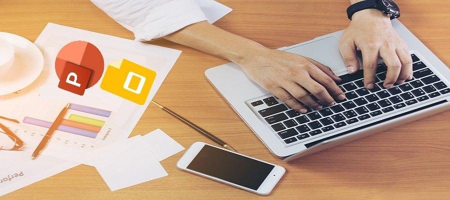 """مقارنة بين Microsoft PowerPoint و """"العروض التقديمية من Google"""": أيهما يجب أنتستخدمه؟ - مراجعات"""