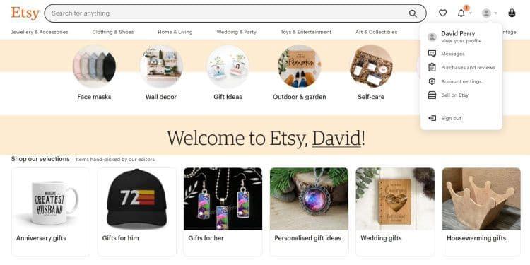 كيفية استخدام Etsy لبيع وشراءالمنتجات - مراجعات