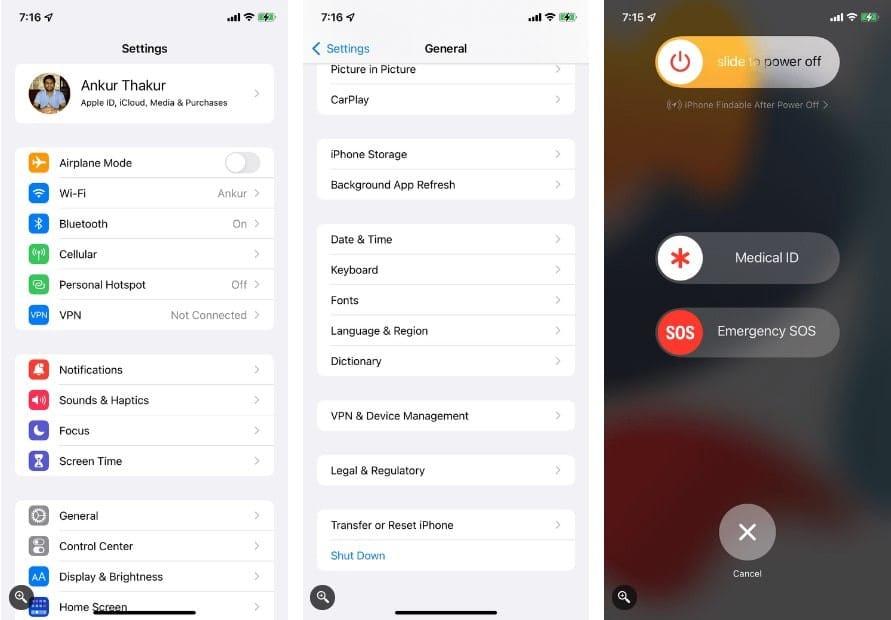 كيفية إعادة تشغيل أي iPhone ، حتى لو كانت الأزرارمُعطلة - iOS
