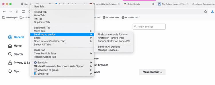 أفضل الطرق المفيدة لإدارة علامات التبويب المُتعددة فيFirefox - شروحات